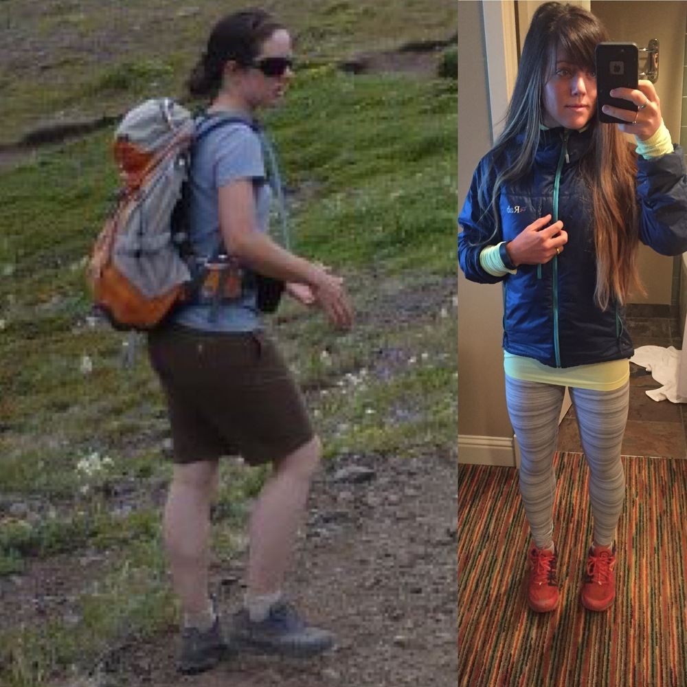 Me, several years ago (on the left), and in November 2015 (on right). We all have a unique journey before us with different goals, but good nutrition goes a long way towards healing the body and the mind.