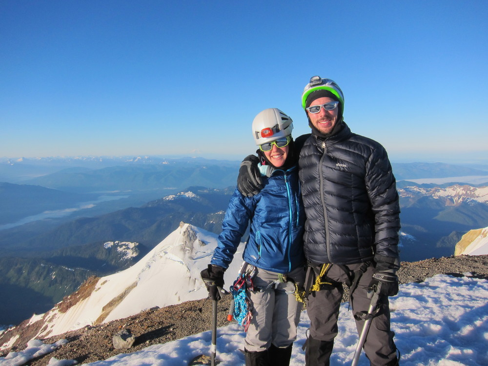 #2 volcano - Summit of Mt. Baker