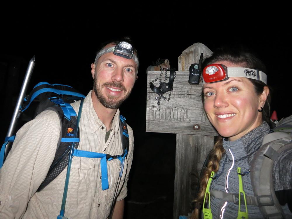 Starting our climb at 0230. Yay.
