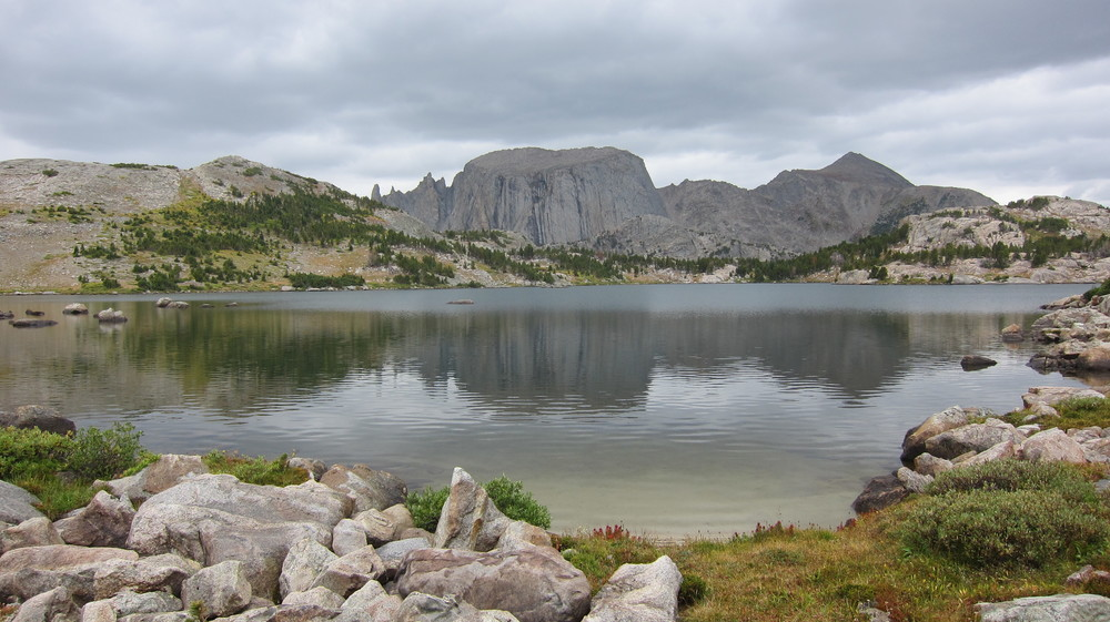 Coon Lake on the edge of the Continental Divide.
