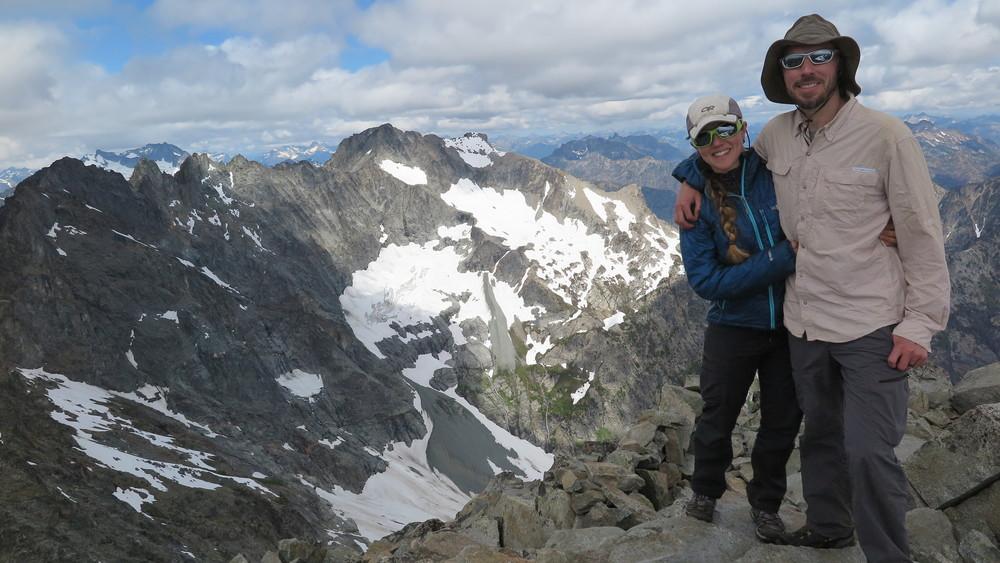 Summit of Maude.