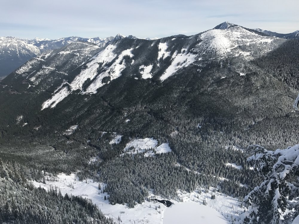 Summit views - not too shabby!