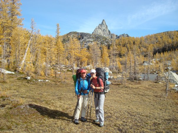 From our FIRST ever backpacking trip together. The Enchantments, Alpine Lakes Wilderness.