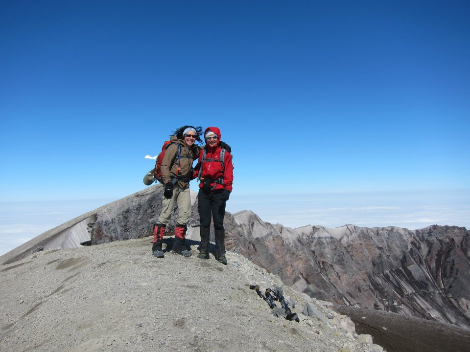 Climbing Mt. Saint Helens. Yep, still not a mountain climber.