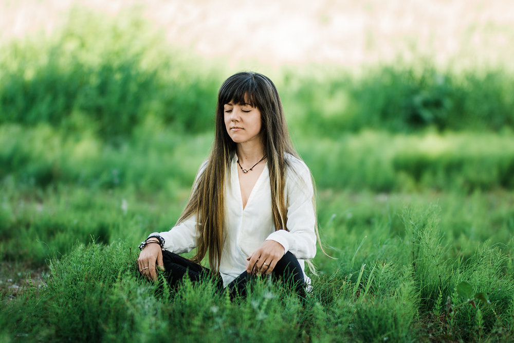 If I can meditate in a grass field, you can too.  Hint:  it doesn't even need to be in a field.
