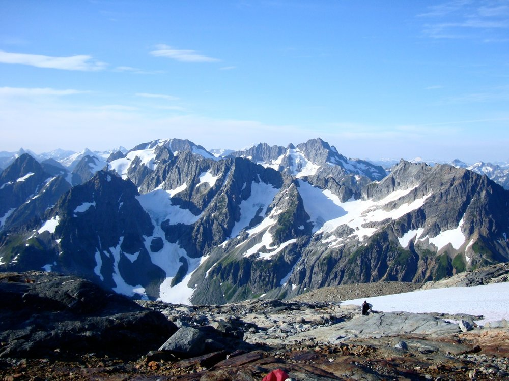 On the Sahale Arm, North Cascades.